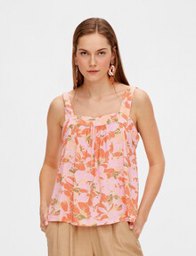 Y.A.S Juna Sleeveless Top, Pink product photo