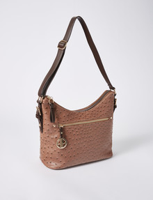 Boston & Bailey Capri Hobo Bag, Brown product photo