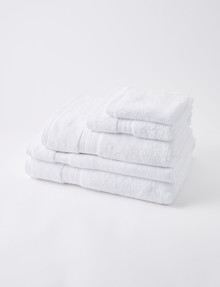 Mondo Somerset Towel Range, White product photo