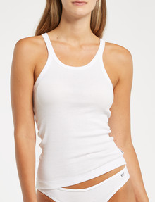 Bonds Chesty Singlet, White product photo