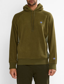 Champion Rochester Polar Hoodie, Green product photo