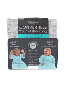 Bubba Blue Silver 2.5 Tog Convertible Sleeping Bag, 12-24m product photo