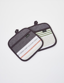 Ladelle Intrinsic Pot Holder, 2-Pack product photo