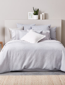 Haven Bed Linen Jersey Duvet Cover Set, Grey product photo