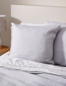 Haven Bed Linen Jersey European Pillowcase, Grey product photo