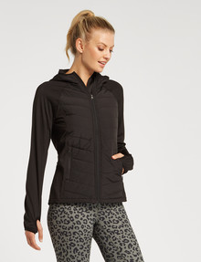 Superfit Spliced Jacket, Black product photo