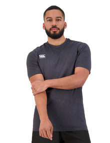 Canterbury Seamless Short-Sleeve Tee, Black product photo