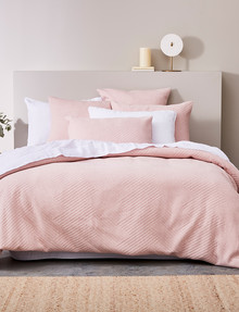 Haven Bed Linen Jersey Duvet Cover Set, Pink product photo