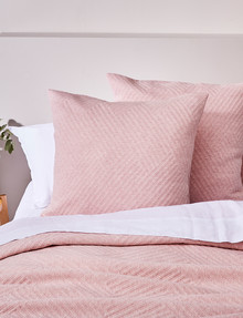 Haven Bed Linen Jersey European Pillowcase, Pink product photo