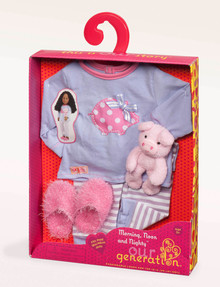 Our Generation Piggy PJ's Outfit product photo
