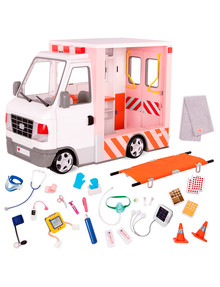 Our Generation Rescue Ambulance with Electronics product photo