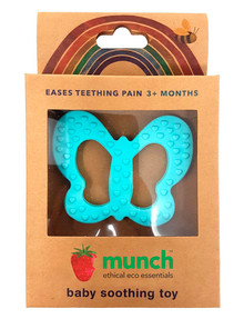Munch Butterfly Teether, Blue product photo