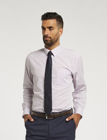 Chisel Formal Multi Check Long-Sleeve Shirt, Pink product photo