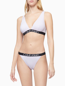 Calvin Klein Reconsidered Comfort Cotton Triangle Bra, Ambiant Lavendar product photo