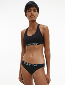 Calvin Klein Reconsidered Comfort Cotton Bikini Brief, Black product photo