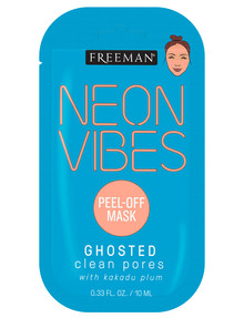 Freeman Neon Vibes Ghosted Clean Pores Mask, 10ml product photo