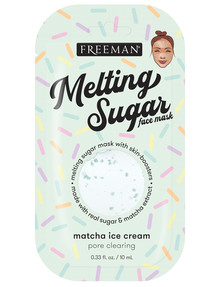 Freeman Melting Sugar Matcha Ice Cream Mask, 10ml product photo