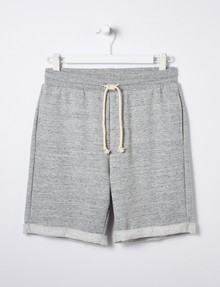 No Issue Textured Knit Short, Grey Marle product photo