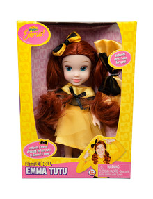 "The Wiggles 6"" Emma Doll, With Bow For You, Assorted product photo"