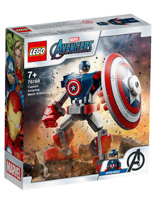 Lego Super Heroes Captain America Mech Armour, 76168 product photo