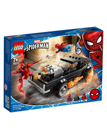 Lego Super Heroes Spider-Man & Ghost Rider vs. Carnage, 76173 product photo