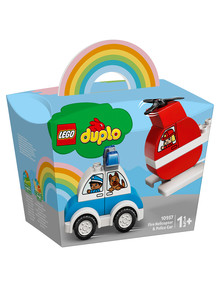 Lego Duplo Fire Helicopter & Police Car, 10957 product photo