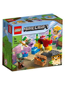 Lego Minecraft The Coral Reef, 21164 product photo