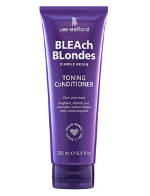 Lee Stafford Bleach Blondes Purple Reign Toning Conditioner, 250ml product photo