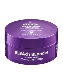Lee Stafford Bleach Blondes Purple Reign Toning Treatment, 200ml product photo