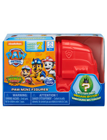 Paw Patrol Deluxe Mini Figure & Dino, Assorted product photo