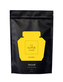 WelleCo Super Elixir Greens, Lemon And Ginger 300g Refill product photo