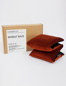 Camden Co Wheat Bag, Copper Velvet product photo
