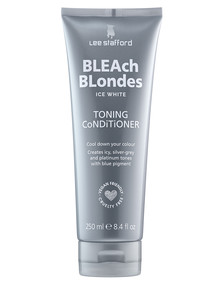 Lee Stafford Bleach Blondes Ice White Toning Conditioner, 250ml product photo