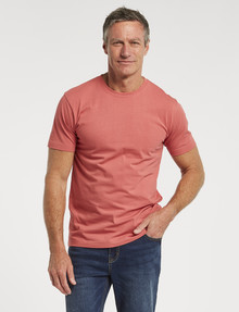 Chisel Ultimate Crew-Neck Tee, Peach product photo