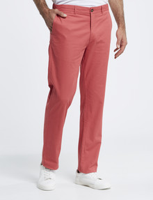Chisel Classic Chino Pant, Light Red product photo
