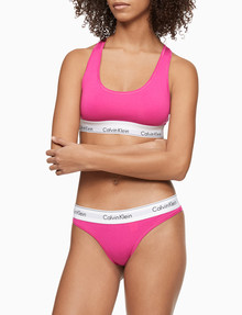 Calvin Klein Modern Cotton Thong, Party Pink product photo