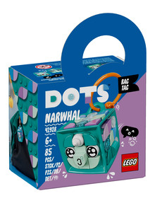 Lego DOTS Bag Tag Narwhal, 41928 product photo