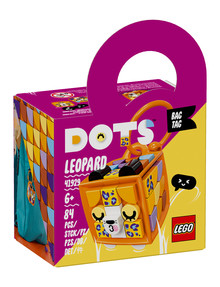 Lego DOTS Bag Tag Leopard, 41929 product photo