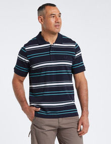 Line 7 Titus Short-Sleeve Polo product photo