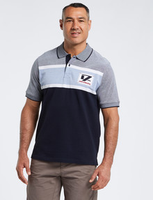 Line 7 Peterson Short-Sleeve Polo, Light Blue product photo