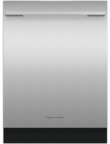 Fisher & Paykel Built-Under Dishwasher, Sanitise, Stainless Steel, DW60UD6X product photo