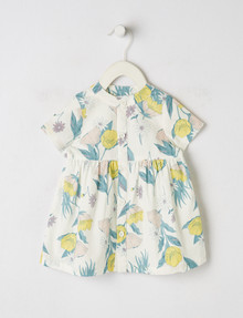 Teeny Weeny Button-Close Floral Dress product photo