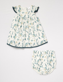 Teeny Weeny Floral Dress & Bloomer Set product photo