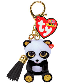 Ty Beanies Mini Boos Chi Panda Clip On product photo