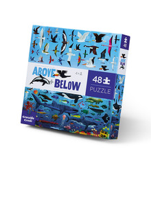 Crocodile Creek Puzzle Above & Below Sea and Sky, 48-Piece product photo