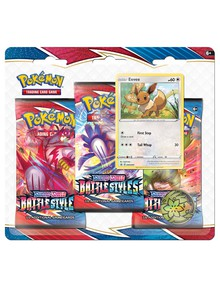 Pokemon Trading Card Game Sword & Shield Battle Styles Blister 3-Pack, Assorted product photo