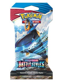 Pokemon Trading Card Game Sword & Shield Battle Styles Blister, Assorted product photo