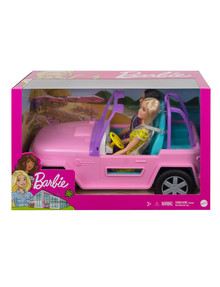 Barbie Doll and Vehicle Playset product photo