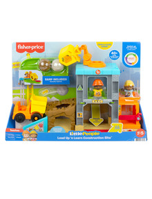 Fisher Price Little People Load Up n' Learn Construction Site product photo