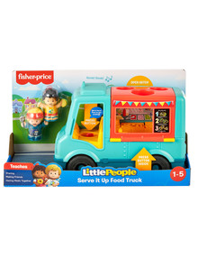 Fisher Price Little People Serve It Up Food Truck product photo